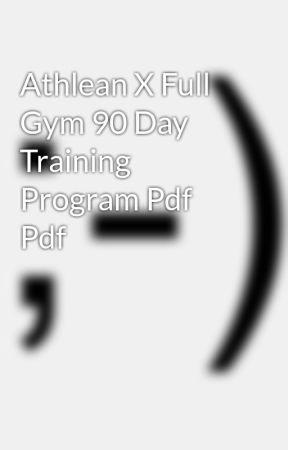 athlean x full gym