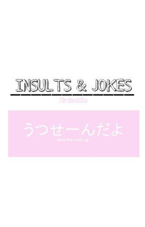 insults jokes funny combacks