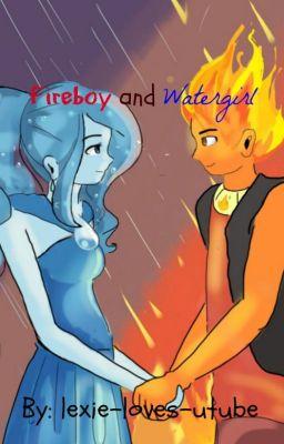 Adventure Time Anime Wallpaper The Legend Of Fireboy And Watergirl Alexus Wattpad
