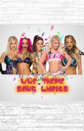wwe theme song lyrics