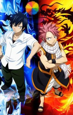 Anime Horror Wallpaper A Fight Between Fire And Ice A Natsu X Reader X Gray