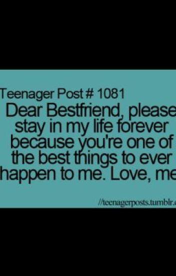 Dear My Best FriendA letter  Dustin the Great  Wattpad