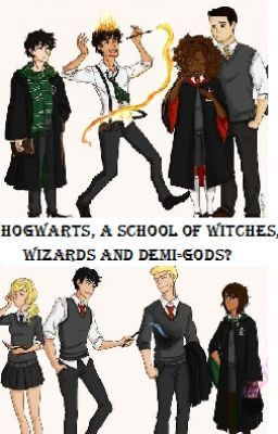 Hogwarts a school of witches wizards and demigods ON HOLD  Piper Jackson  Wattpad