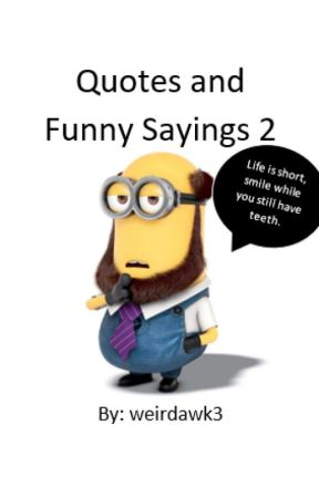 quotes and funny sayings