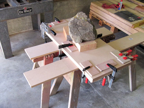 Dewalt Radial Arm Saw Table Clamps