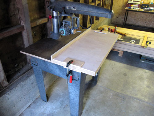 How To Set Up A Radial Arm Saw