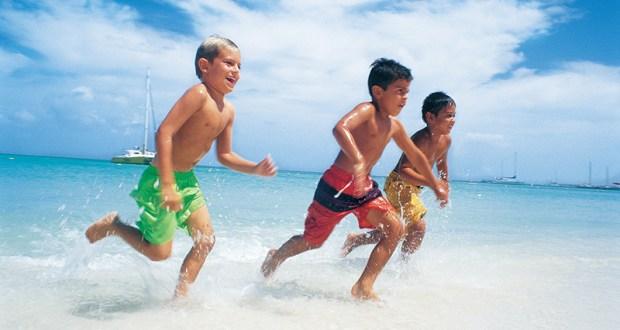 الاطفال والصيف