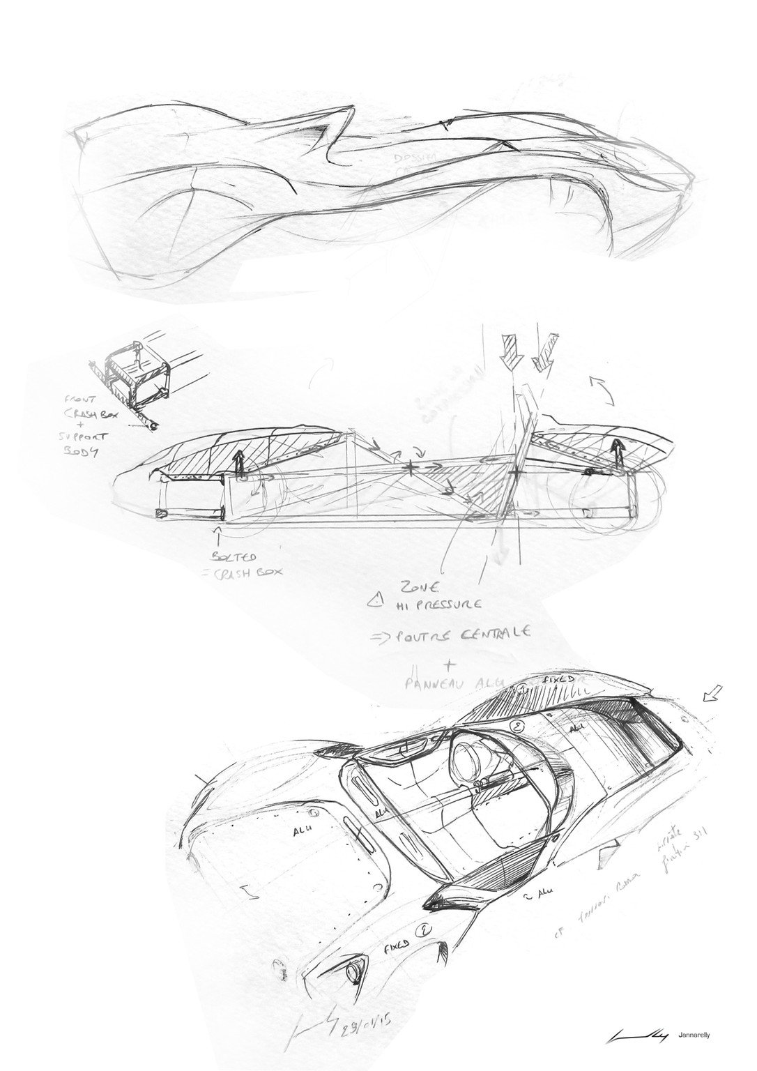 Design-1, el primer coche de Jannarelly Automotive