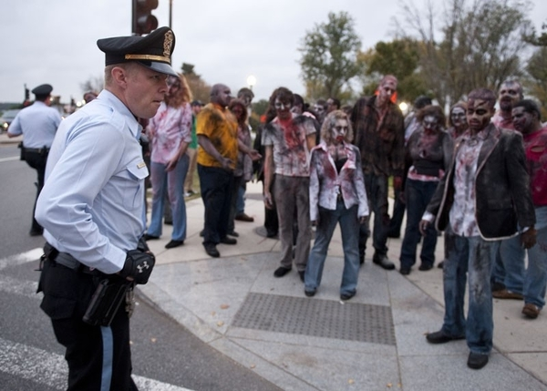 Police and Zombies