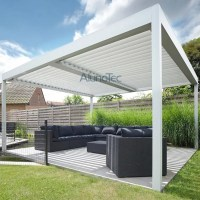 Alunotec Aluminum Patio Louver Roof Pergulas - Buy patio ...