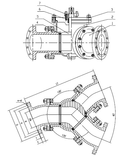 China ball valve,floating ball valve,trunnion mounted ball