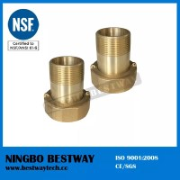 No Lead Brass Water Meter Connector Fittings - Buy Product ...