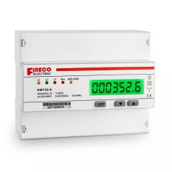 Single Phase Kwh Meter Wiring Diagram Dvr Em735 S 10 100 A 3 4 Wire Electric