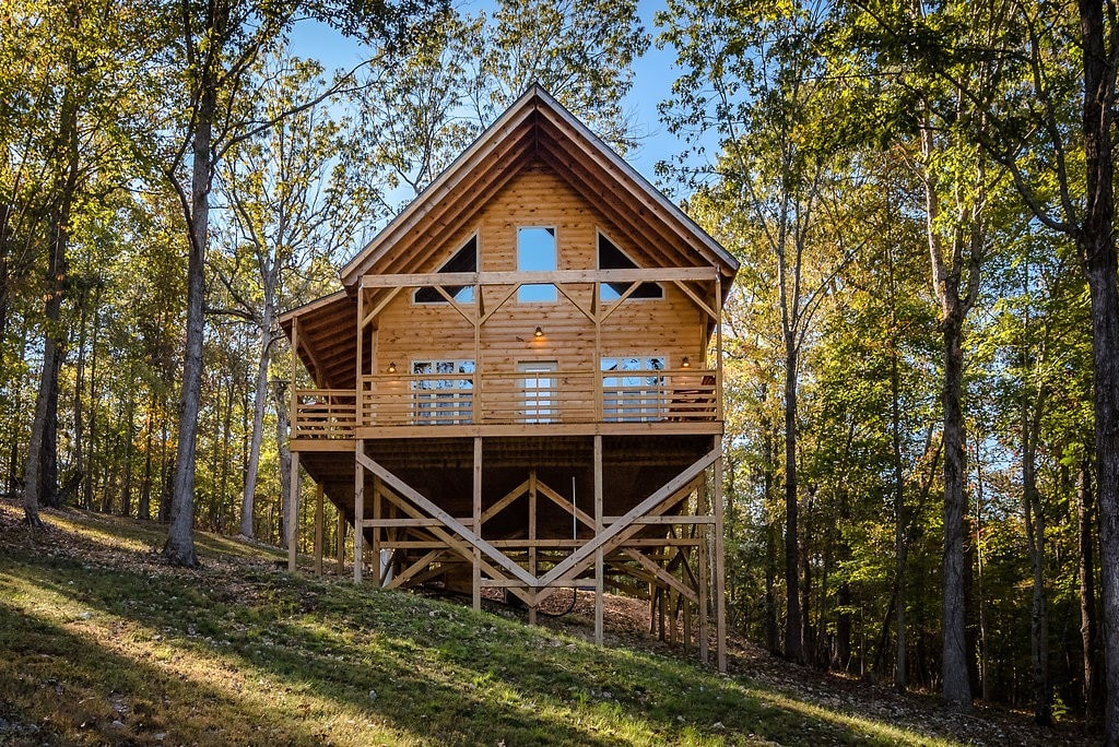Enjoy the American Buffalo Cabin  Cabins for Rent in