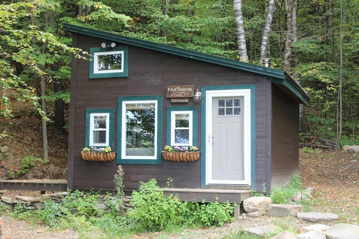 Cozy Tiny House Cabin Between Burlington And Stowe Tiny