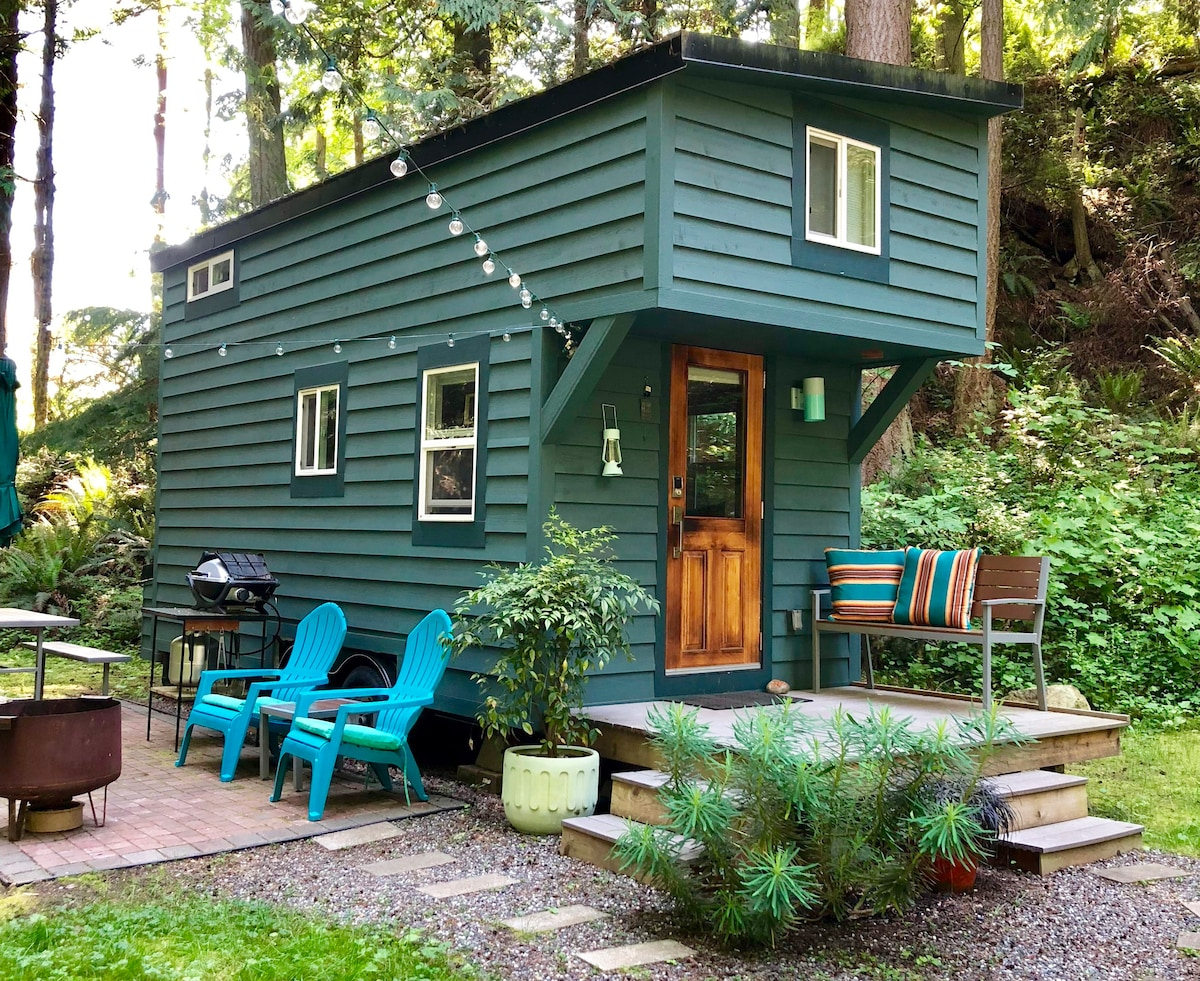 Tiny House On Guemes Island Wa Tiny Houses For Rent In