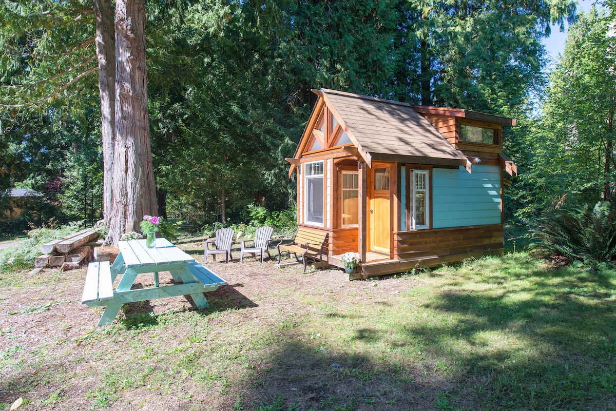 The Micro Cabin In Roberts Creek Tiny Houses For Rent