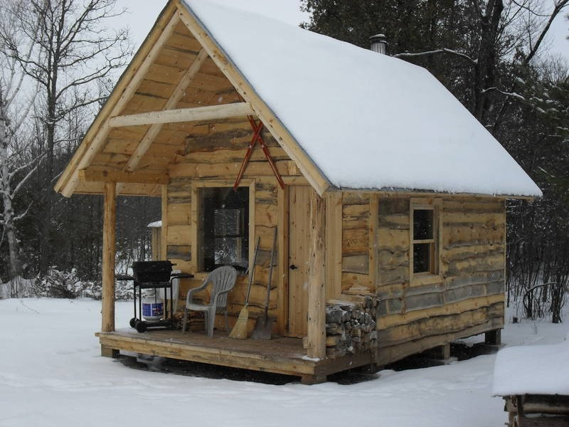 Small Cabin In The Woods Tiny Houses For Rent In Ottawa