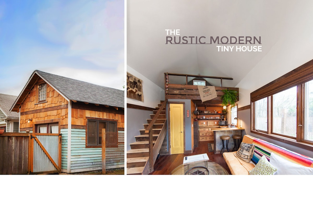 The Rustic Modern Tiny House Tiny Houses For Rent In