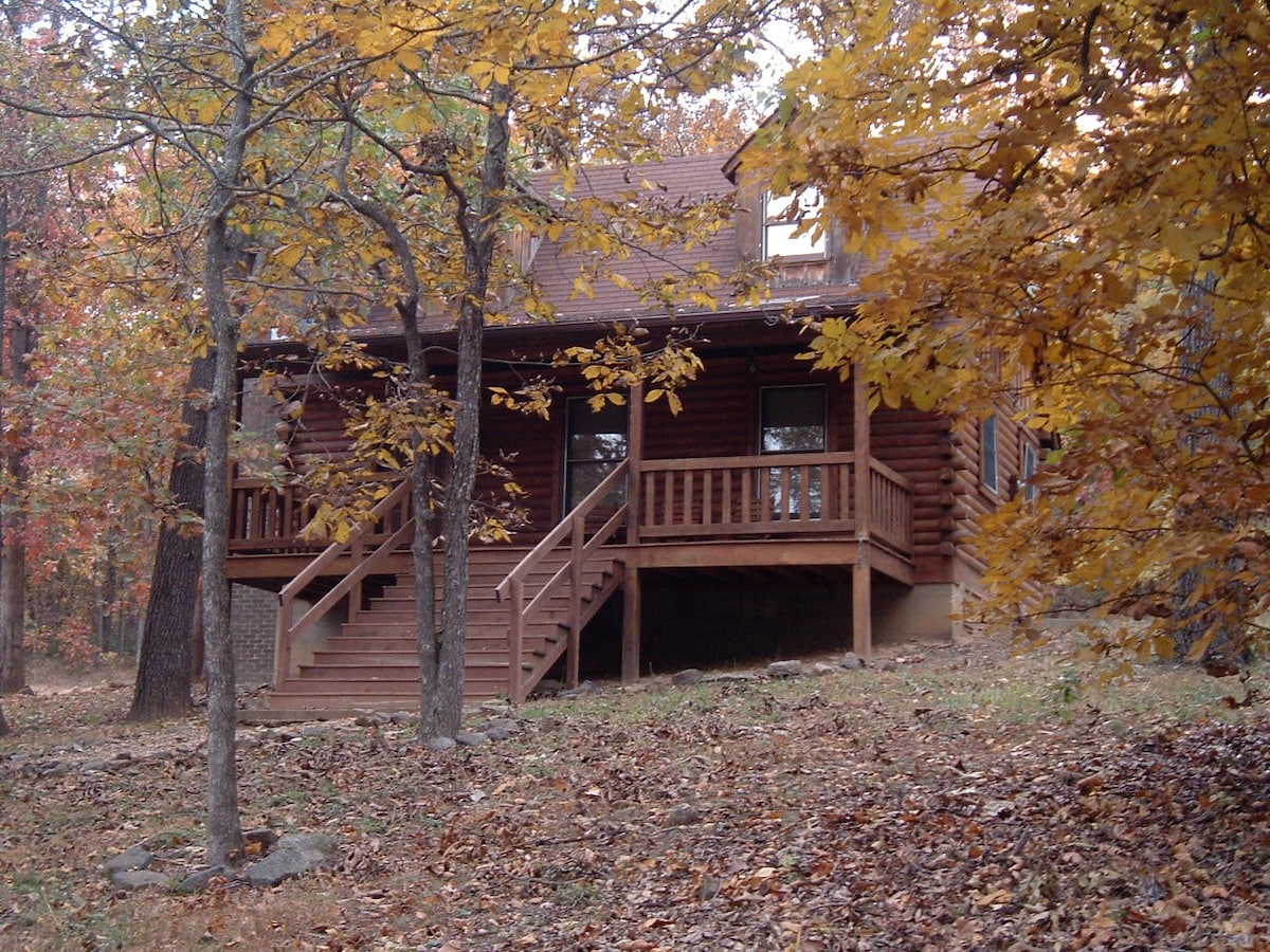Cozy Log Cabin in the Ozark Woods  Cabins for Rent in