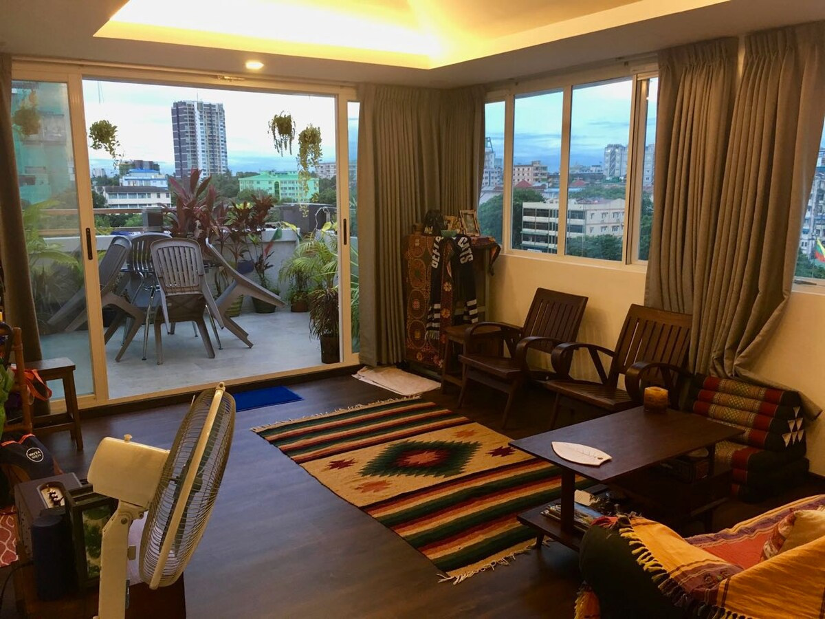 Sunfilled, Modern 2bed, Central Apartment Apartments