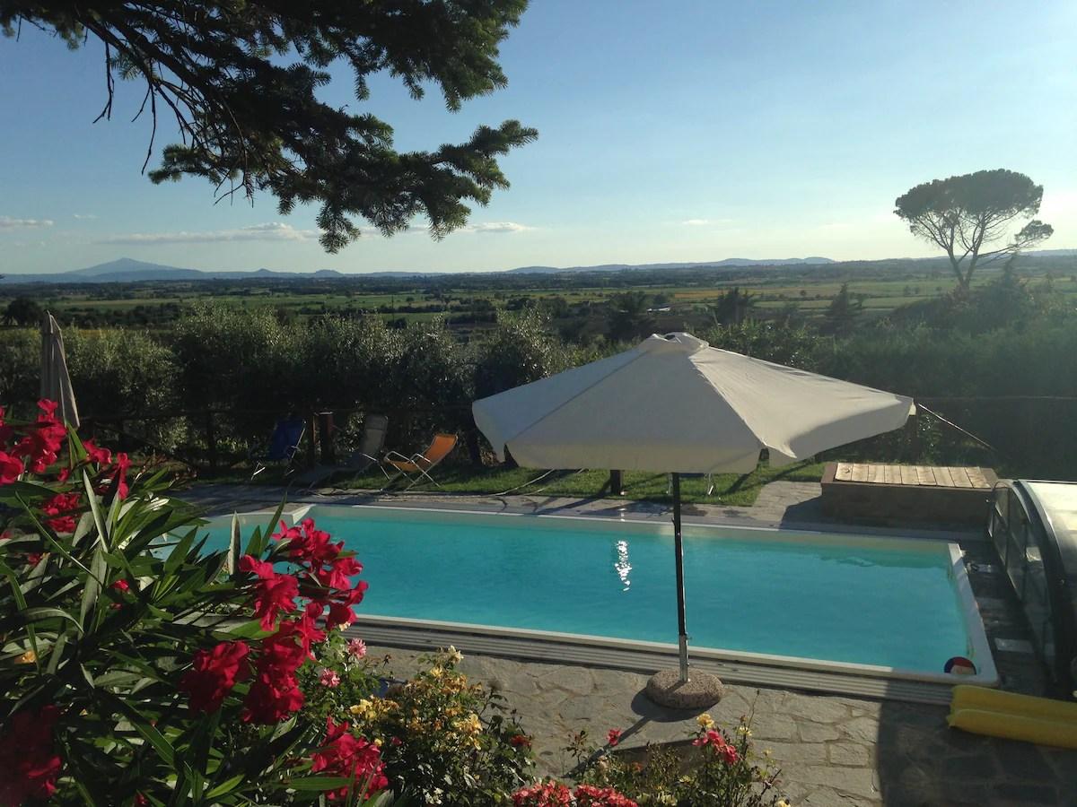 il casale da sogno in Toscana  Ville in affitto a Cortona Toscana Italia