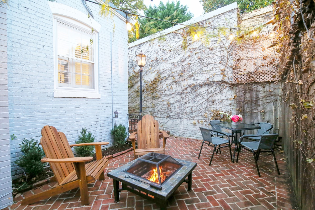 charming cottage in georgetown dc