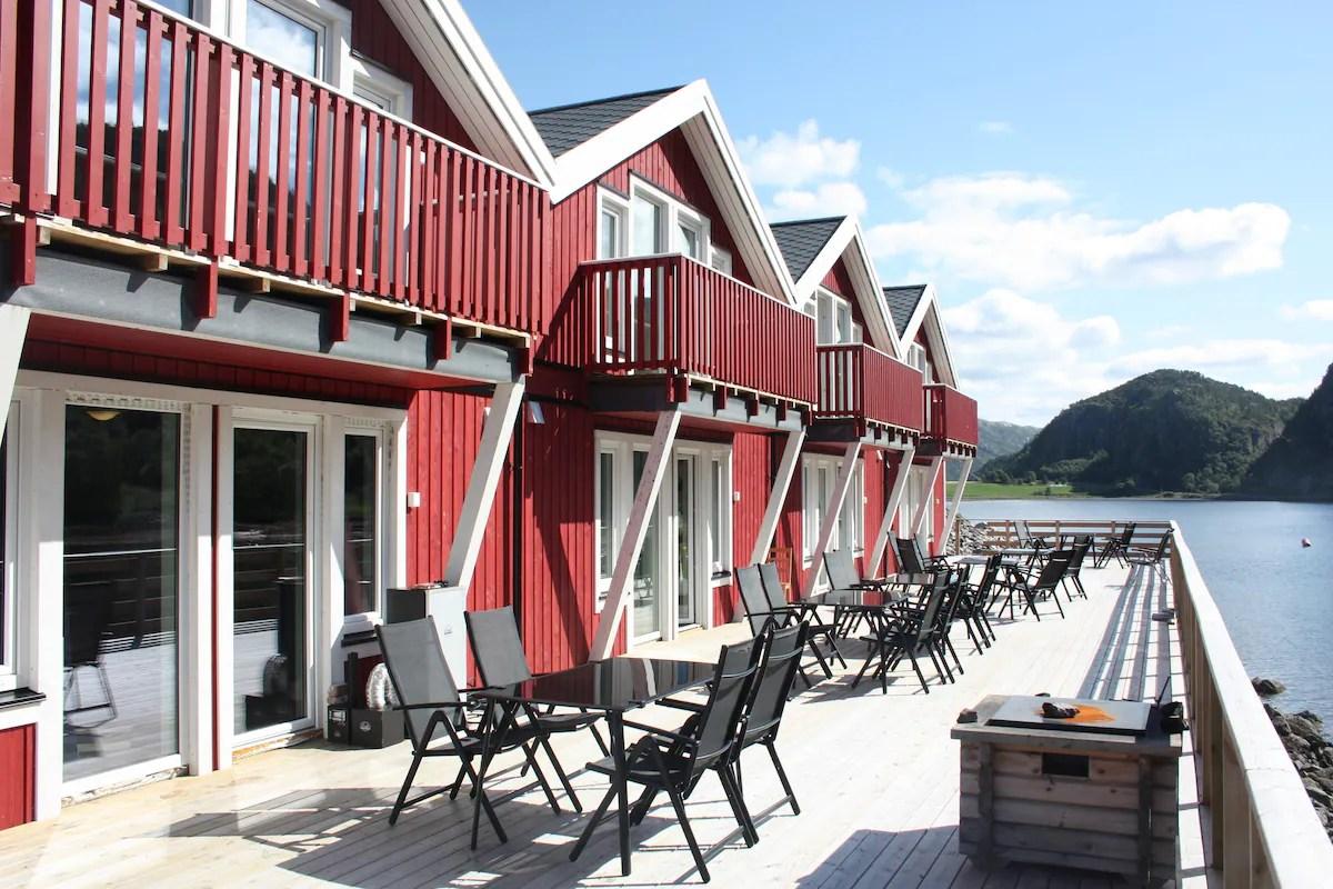 Flatanger rorbuer  Apartments zur Miete in Flatanger NordTrndelag Norwegen