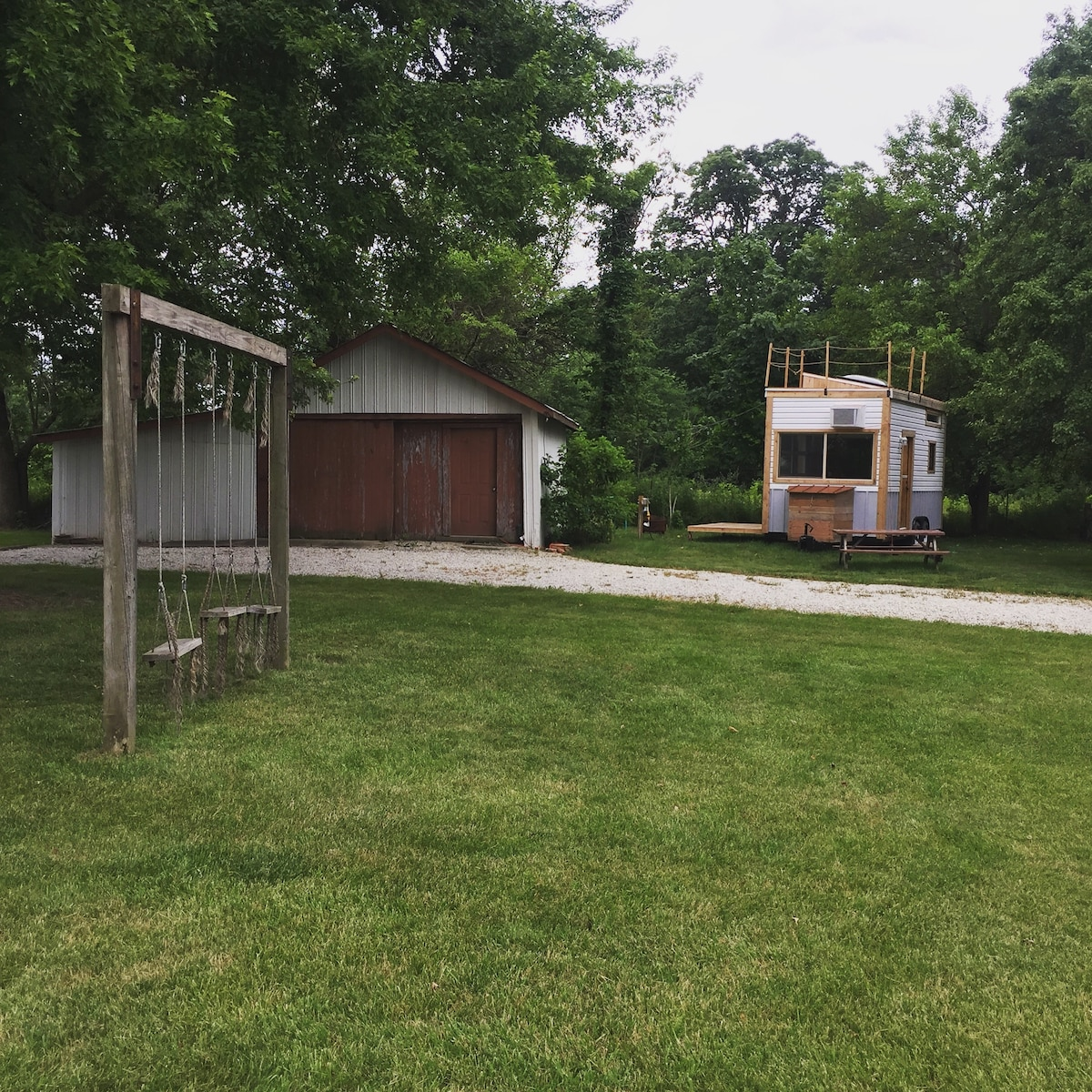 Two Deck Indianapolis Tiny House Campers Rvs For Rent In