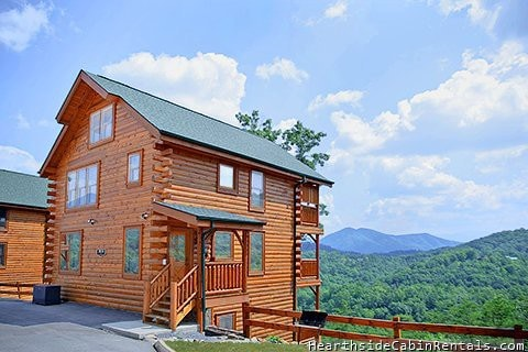 A Walk In The Clouds Smoky Mountain Cabin Cabins For