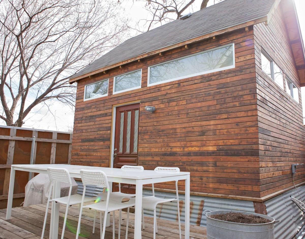 Tiny House Behind Historic Shotgun Tiny Houses For Rent