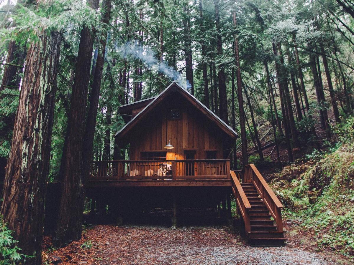 HWY 1 Coastal Cabin Retreat Santa Cruz County  Cabins for