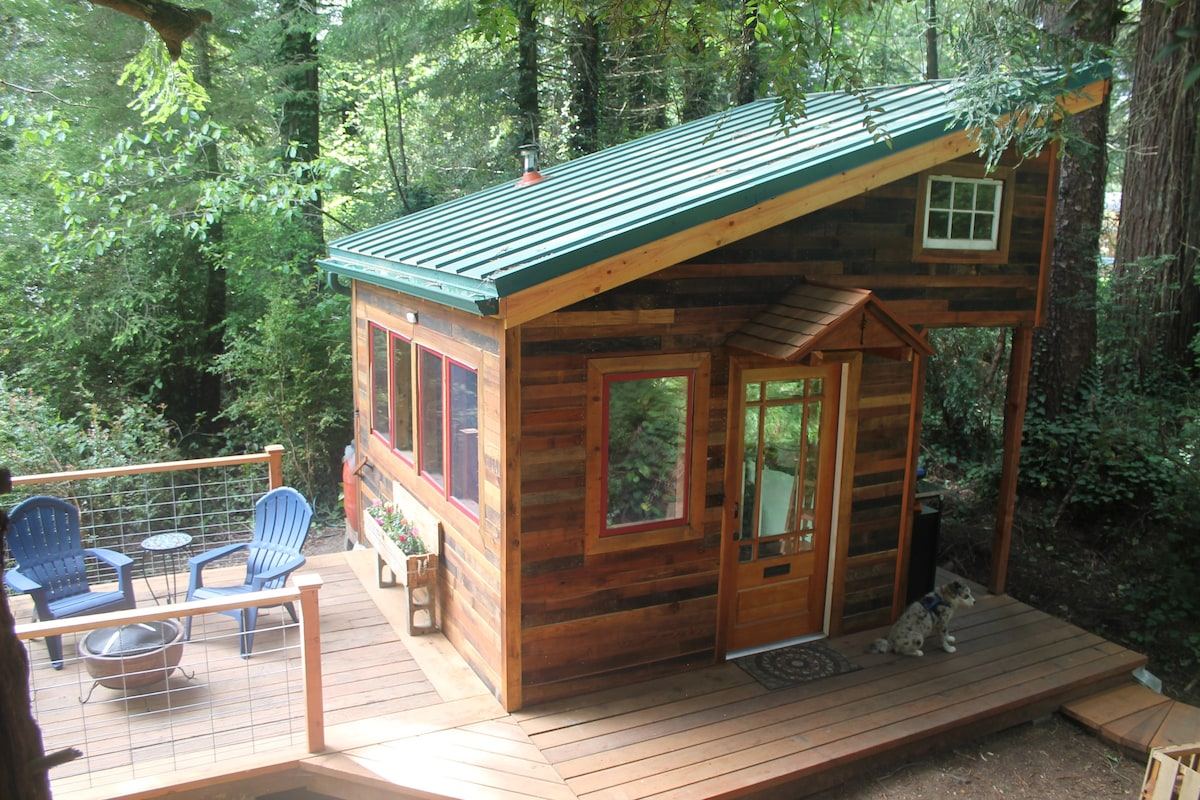 The Tiny House In The Redwoods Tiny Houses For Rent In