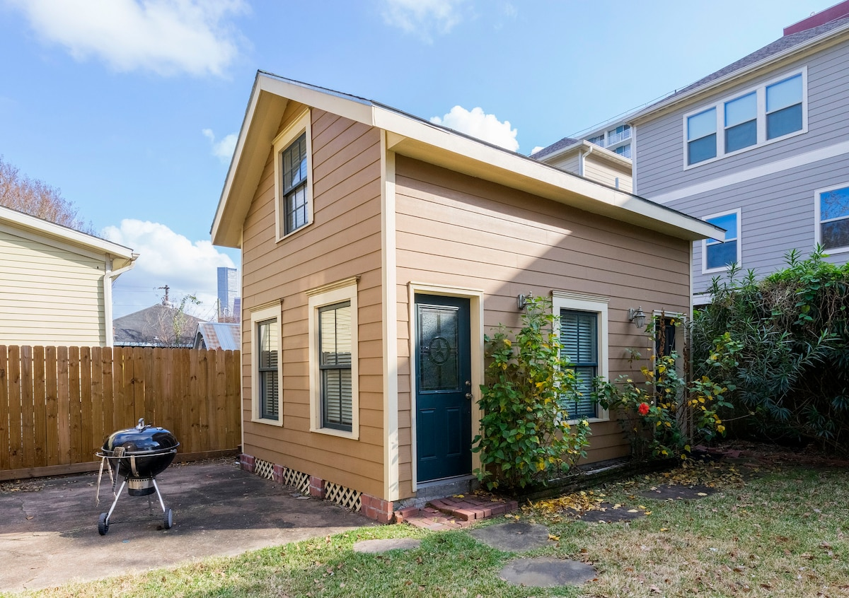 Cozy Tiny House In Downtown Houston Houses For Rent In