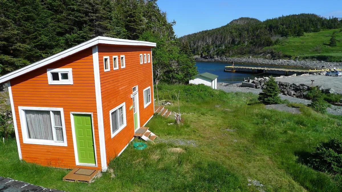 East Coast Newfoundland Cabin On The Sea Tiny Houses For