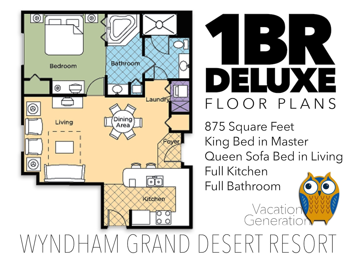 Wyndham Grand Desert ツ 1 Bedroom