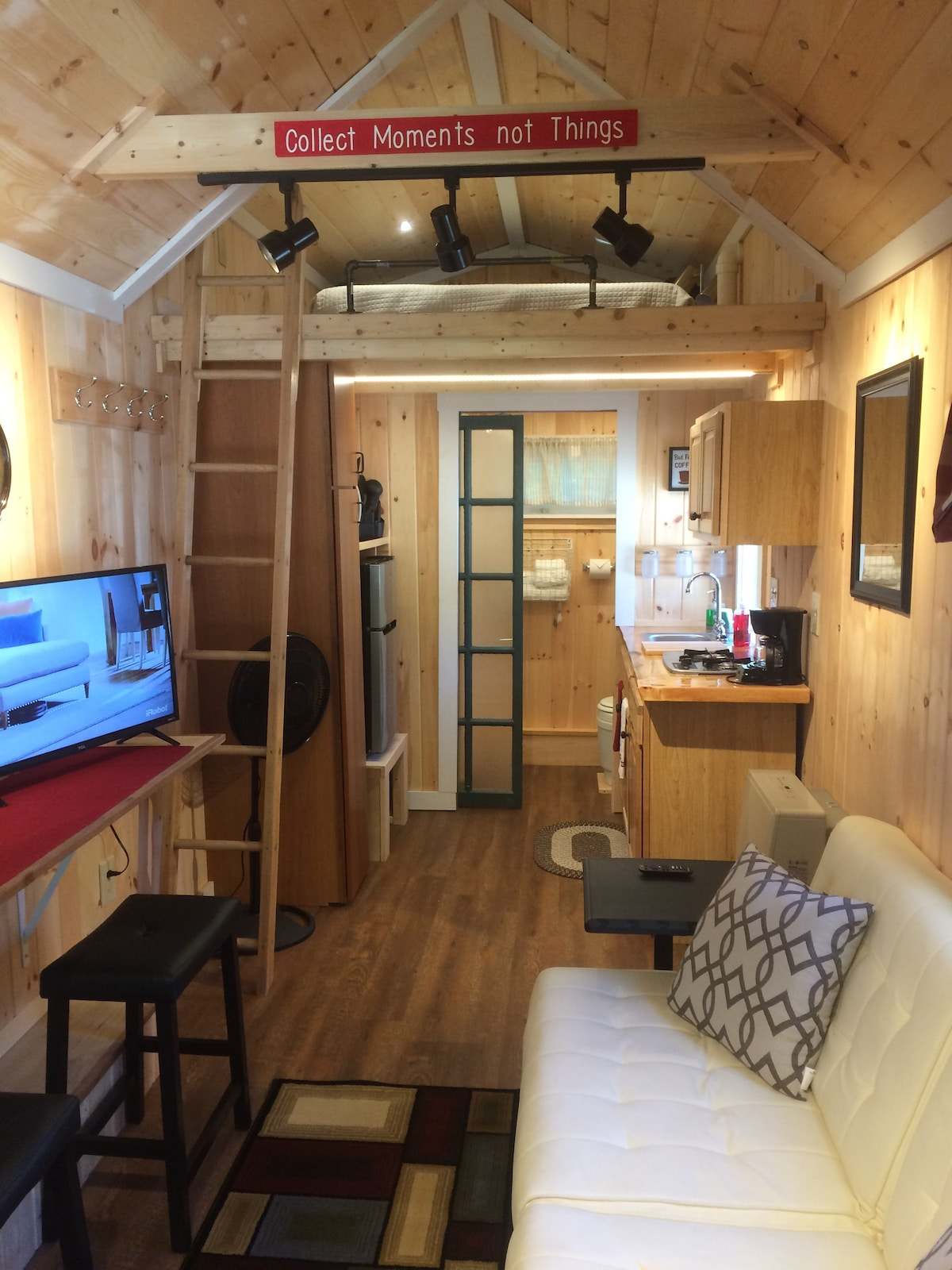 Real Tiny House On Wheels Near Exeter Portsmouth Tiny