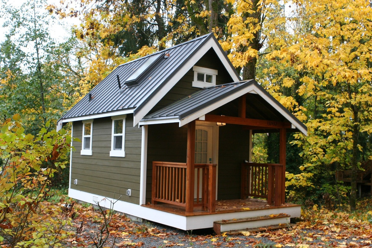 Modern Redmond Tiny House W Loft Houses For Rent In