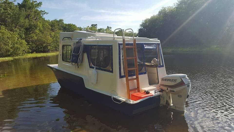 Tiny Houseboat Adventures Boats For Rent In Deland