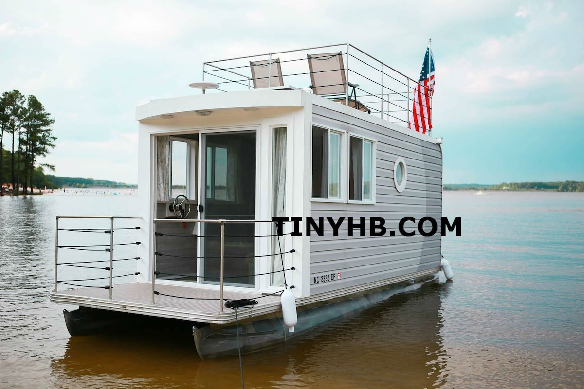 Tiny Houseboat On Jordan Lake Boats For Rent In Apex