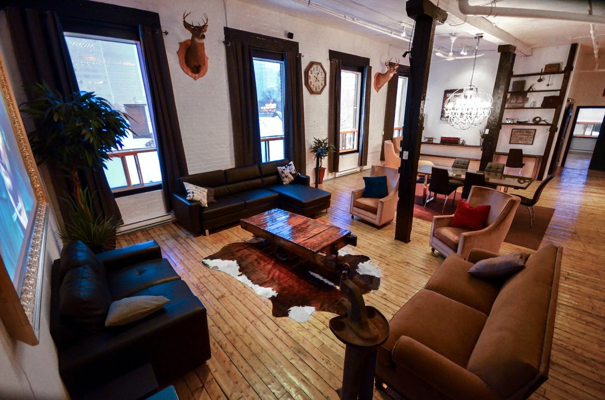 Airbnb Le Loft Industriel Lofts For Rent In Montreal