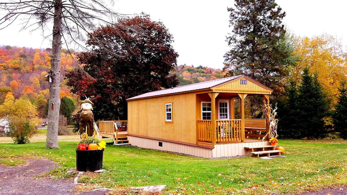 Tiny House Off Ten Tiny Houses For Rent In Bloomville