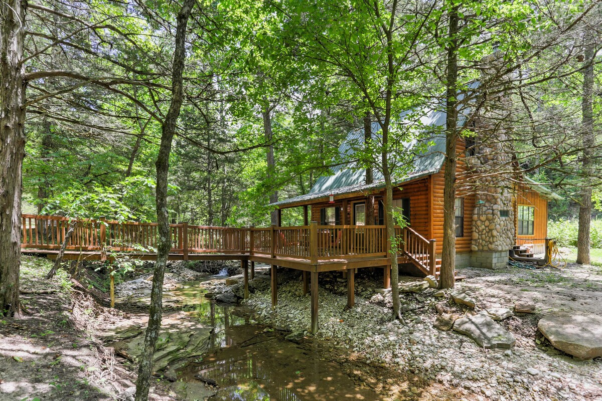 NEW Quiet 1BR Jasper Cabin wTranquil Creek Views