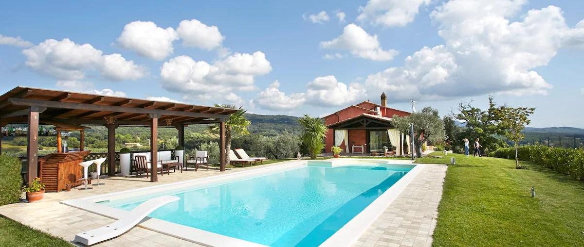 Casa vacanze con piscina nella Maremma Toscana Ville in