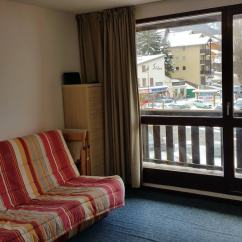 Clic Clac Sofa Bed Large Double Leather Fabric 2 Apartment Near Ski Slopes - Apartments For Rent In ...