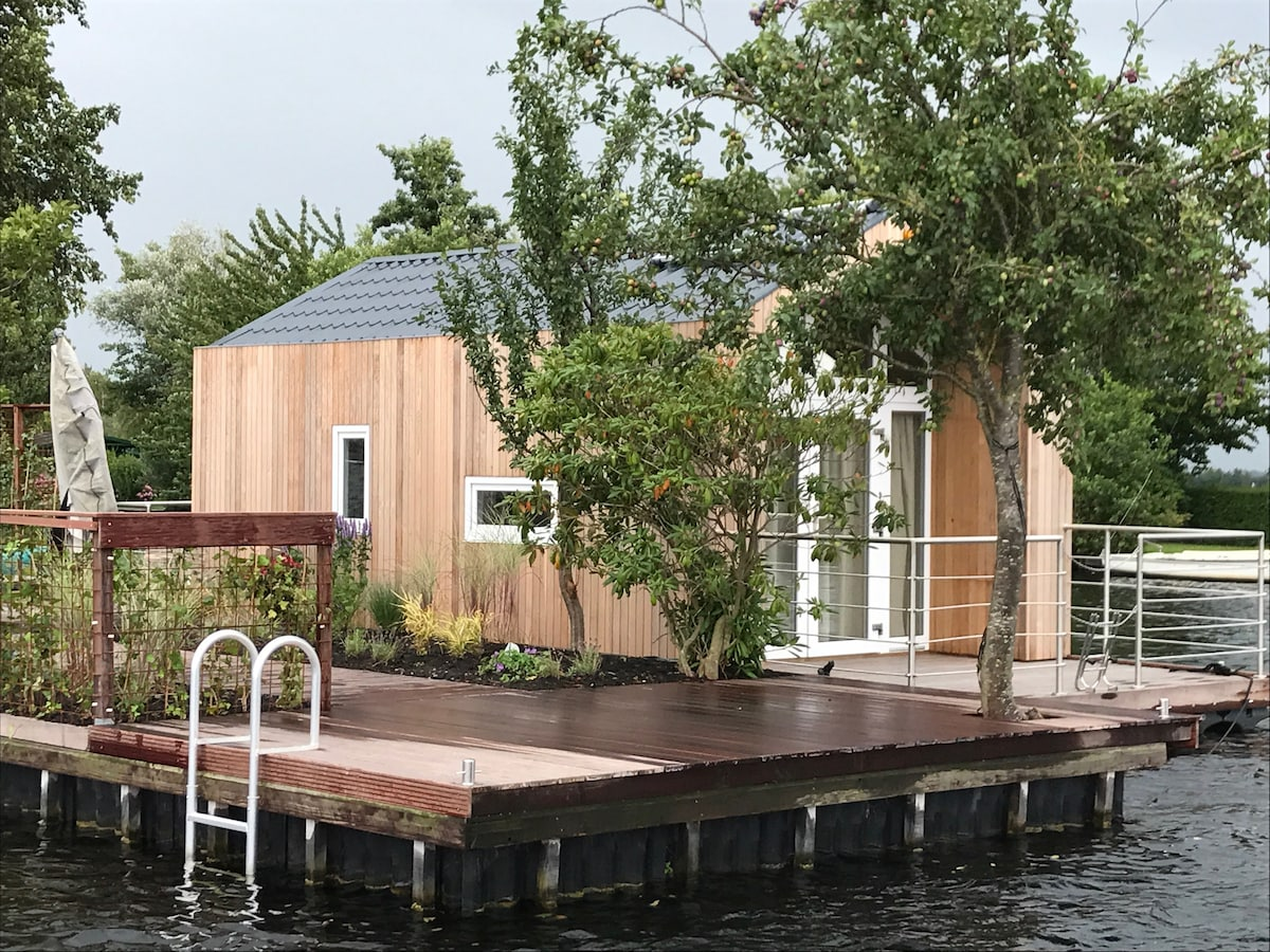 Floating Tiny House Java Island Nearby Amsterdam