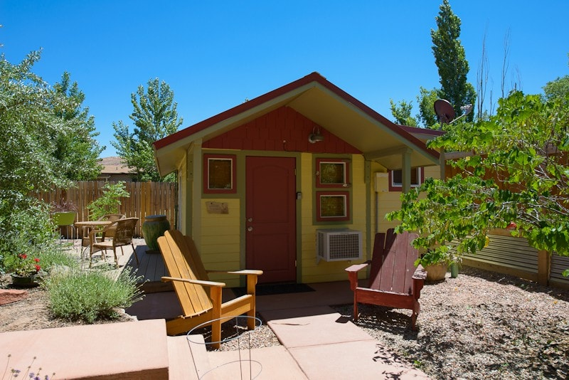 Kenzie S Cottage Tiny Houses For Rent In Moab Utah