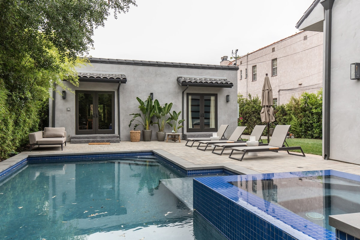 Cozy 5 ★ 3 Bedroom With Fireplace/pool/jacuzzi