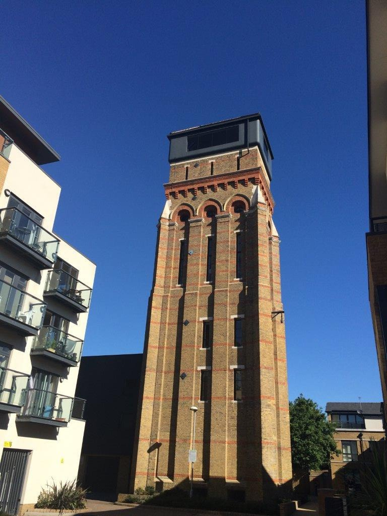 The Grand Designs Water Tower in London Greater London United Kingdom