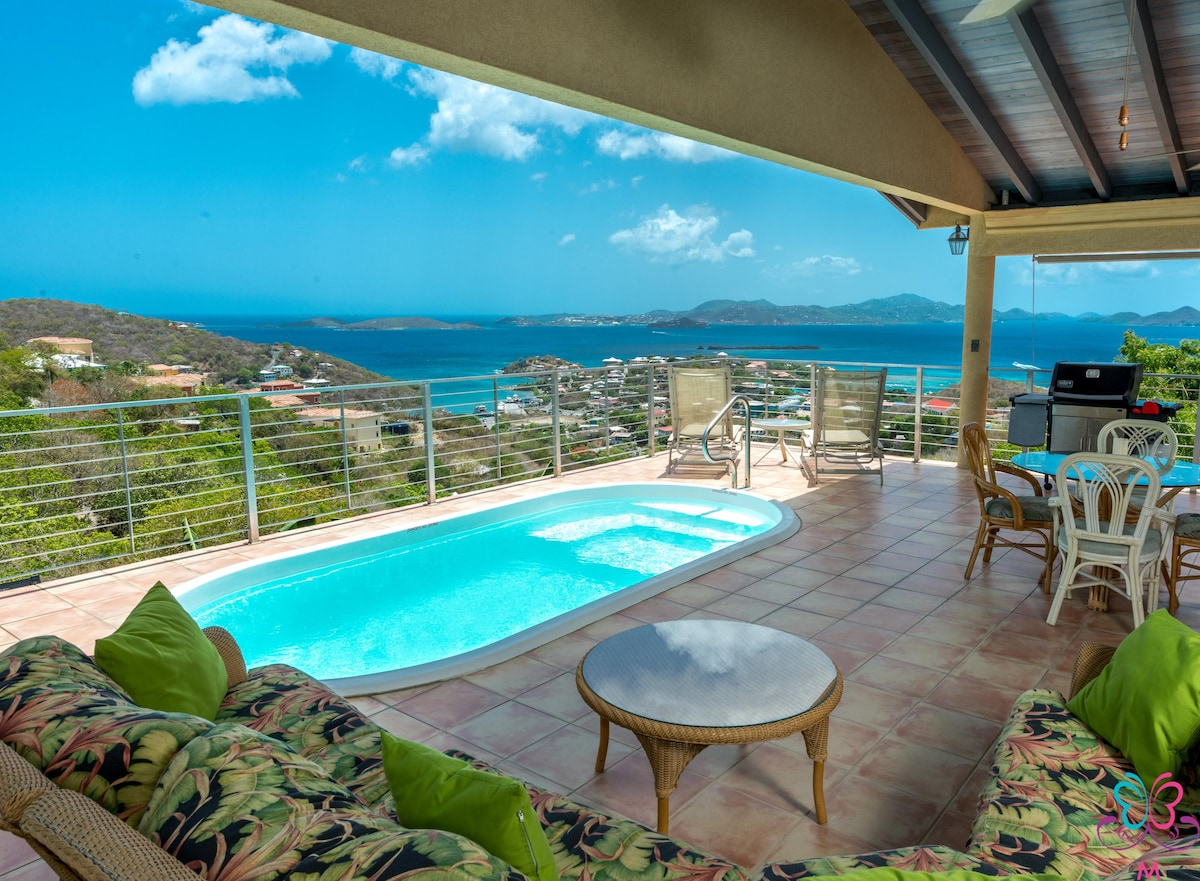 Ginger Thomas Villa In Cruz Bay Houses For Rent In St